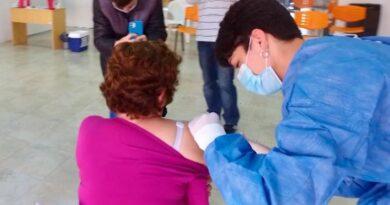Villa Ascasubi tiene más de  la mitad de la población  vacunada contra el coronavirus