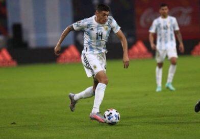 El embalseño Nahuel Molina será titular esta noche ante Uruguay